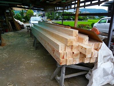 神奈川県産材柱